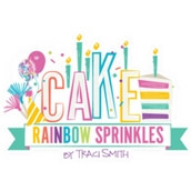 Cake Rainbow Sprinkles de Photo Play