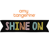 Shine On Amy Tangerine de American Crafts