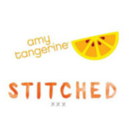 Stitched d'Amy Tangerine