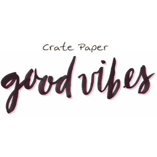 Good Vibes de Crate Paper