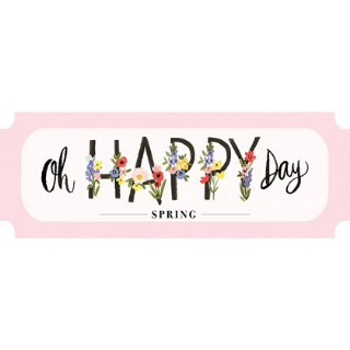 Oh Happy Day Spring de Carta Bella