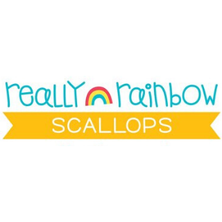 Really Rainbow Scallops de Lawn Fawn