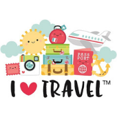 I Heart Travel de Doodlebug