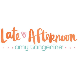Late Afternoon Amy Tangerine de American Crafts