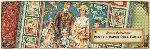 Penny's Paper Doll Family de Graphic 45