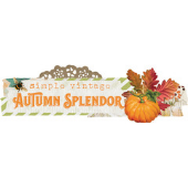 Simple Vintage Autumn Splendor de Simple Stories