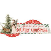 Simple Vintage Country Christmas de Simple Stories