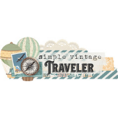 Simple Vintage Traveler de Simple Stories