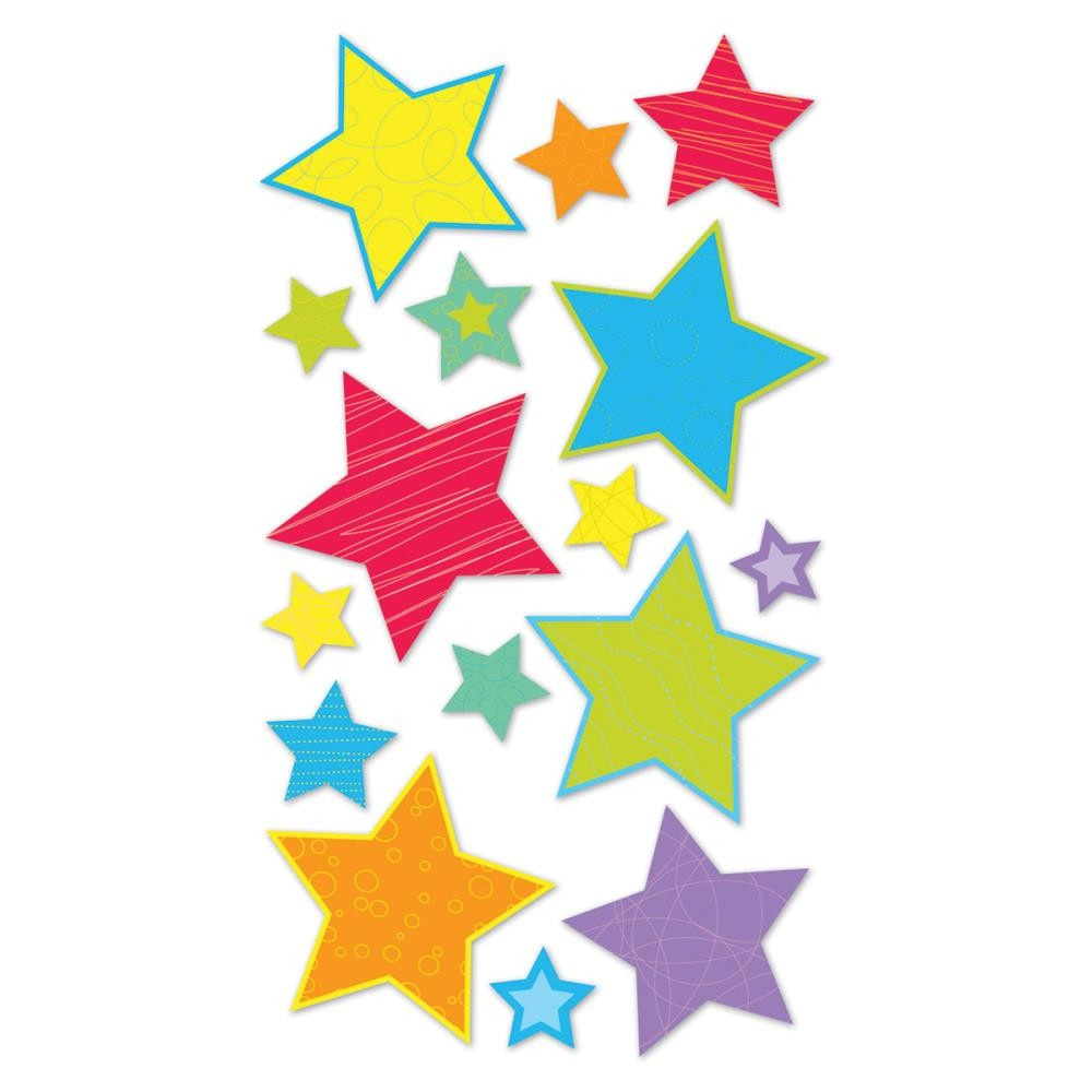 Primary Stars Stickers
