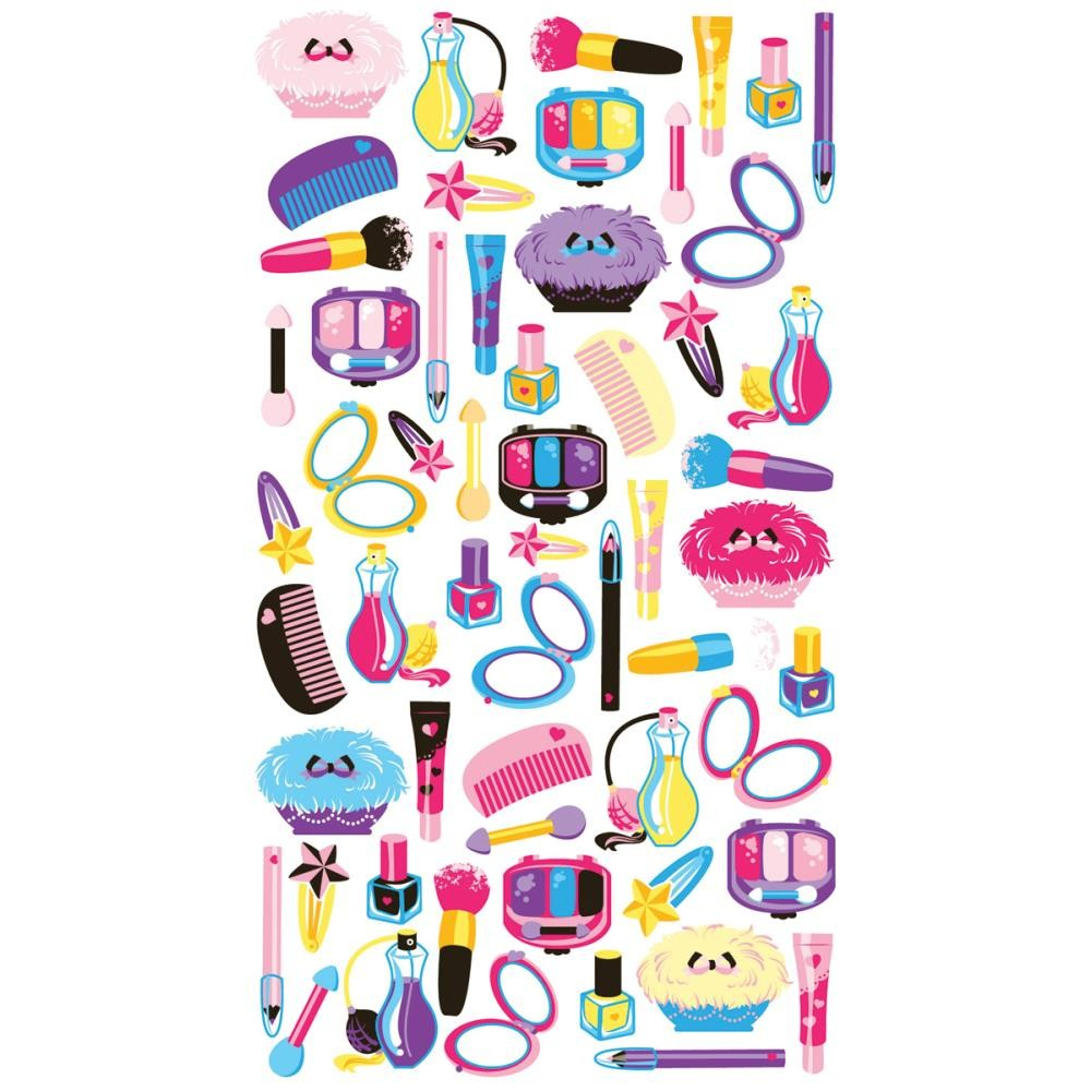 Makeup Time Stickers
