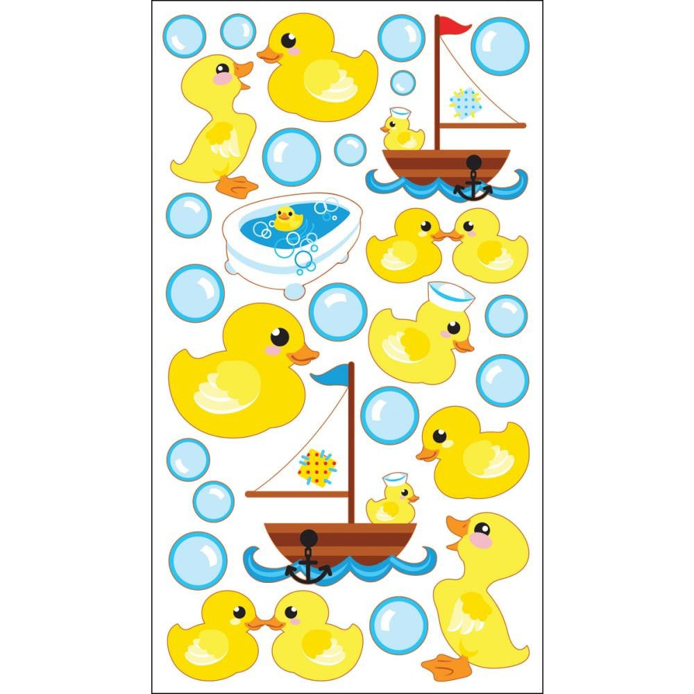 Rubber Duckies Stickers