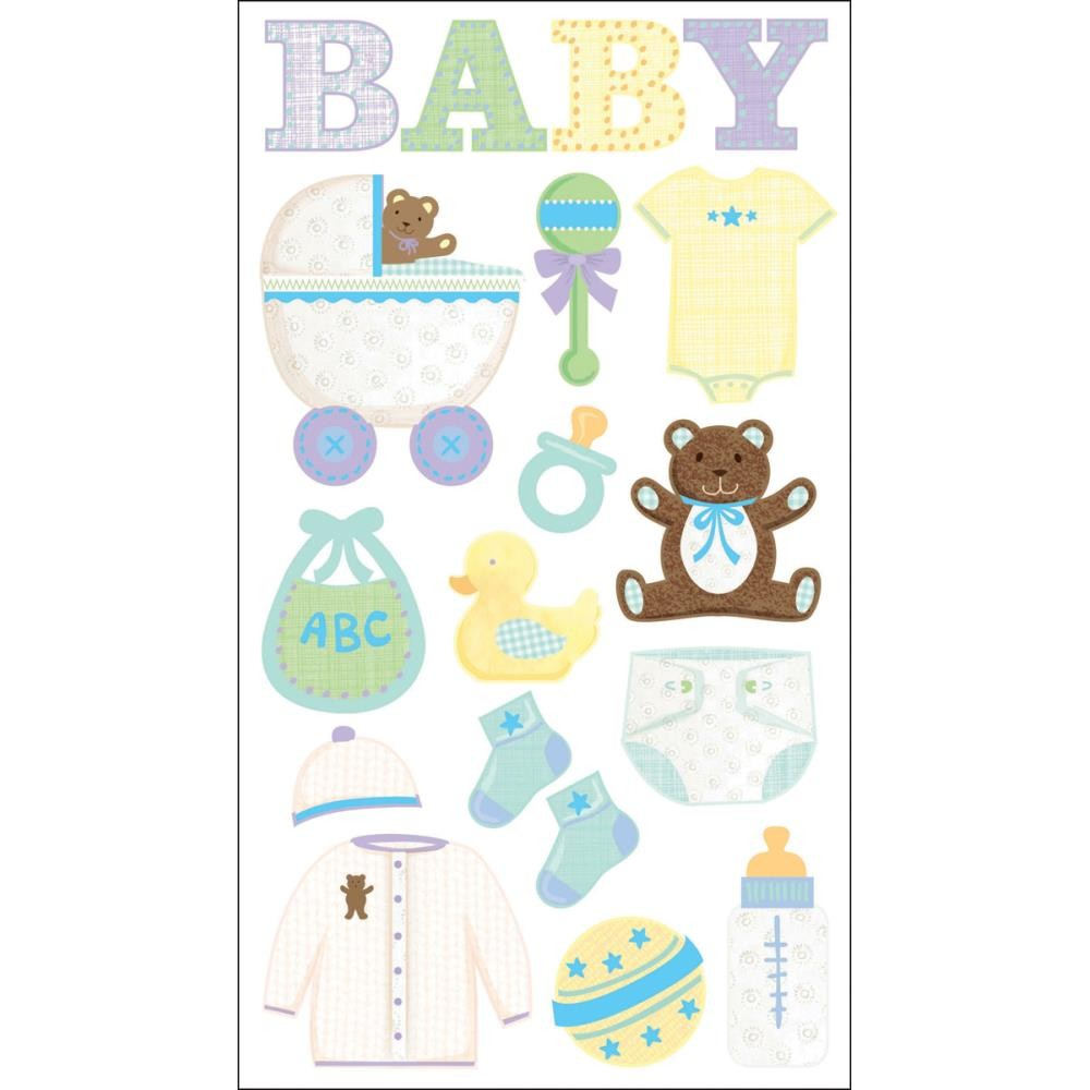 Baby Objects Stickers