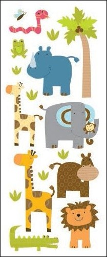 Zoo Friends Stickers
