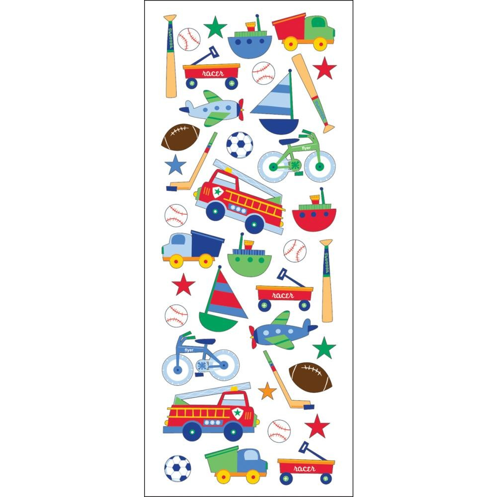 Toys For Boys Stickers