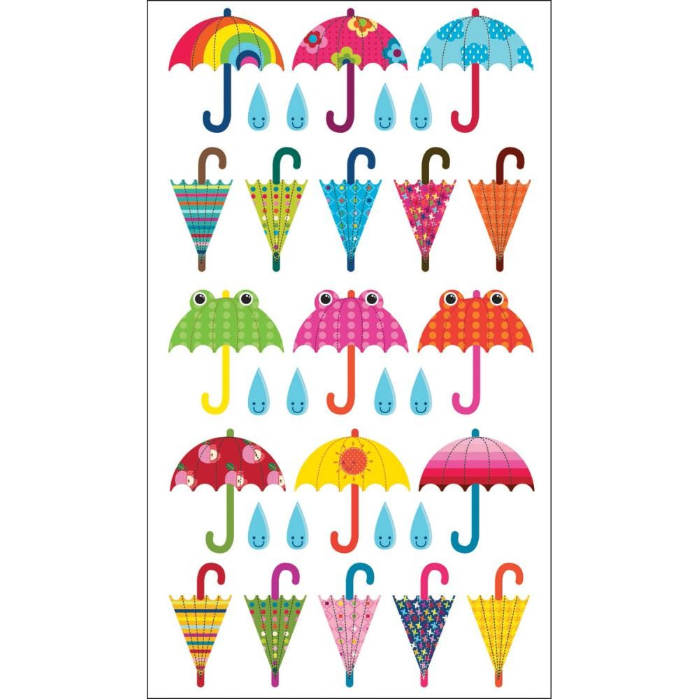 Patterned Umbrella Stickers