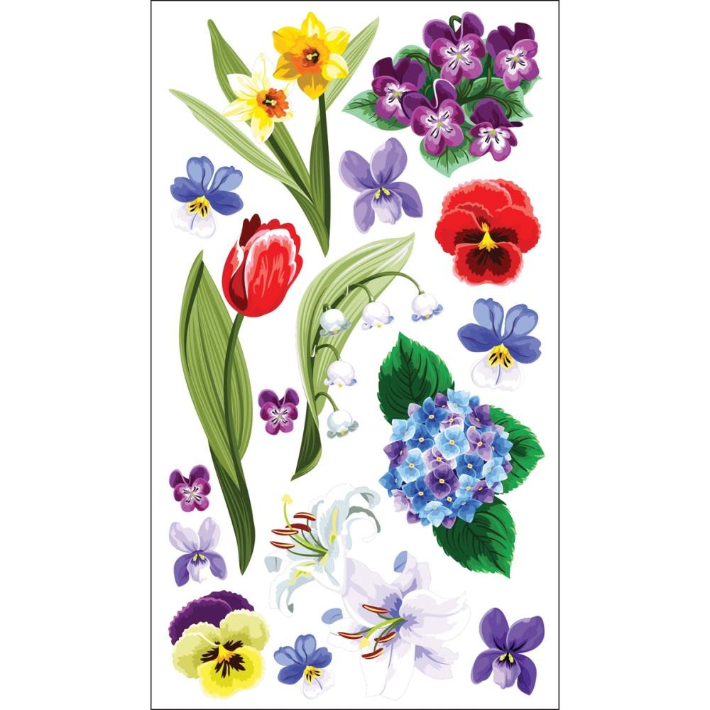 Floral Medley Stickers