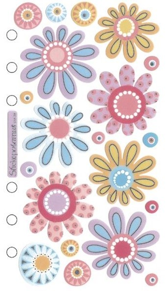Crazy Daisies Stickers