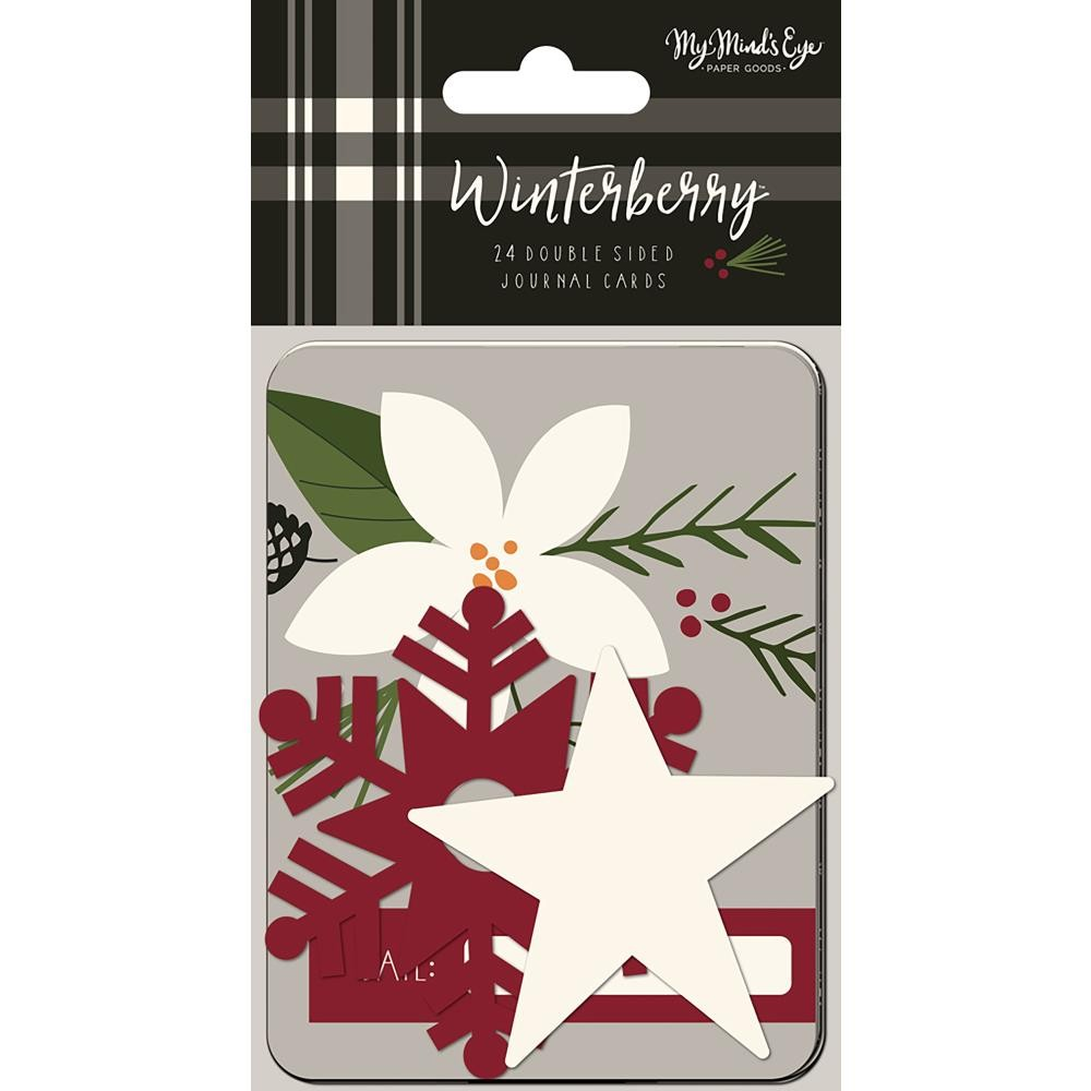 "Tarjetas Project Life Winterberry 3""X4"""