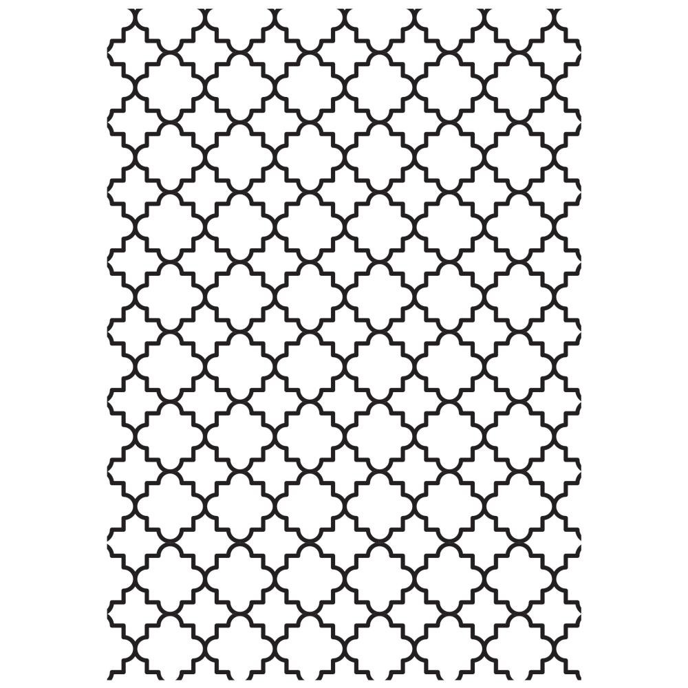 Carpeta de embossing Lattice