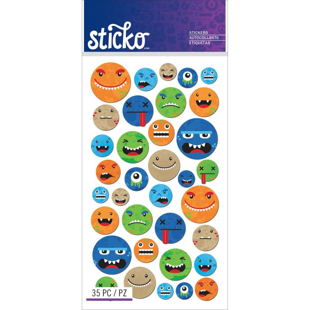 Smiley Face Characters Stickers