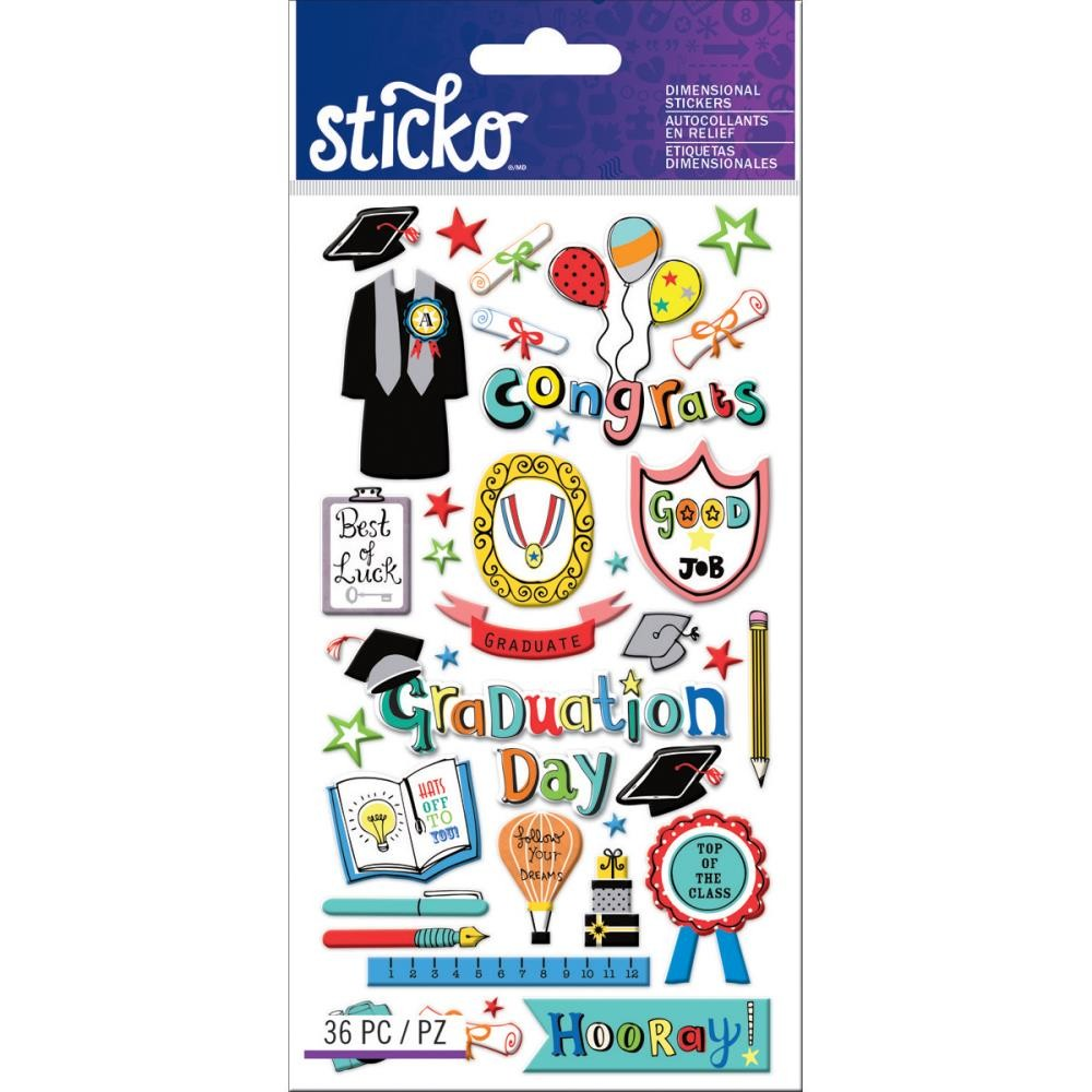 Graduation Stickers G.