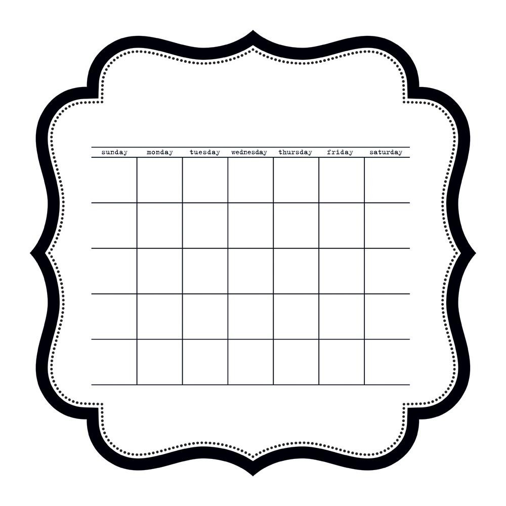 Acetato 12x12-Color Chaos-Calendar Die-Cut Sheet