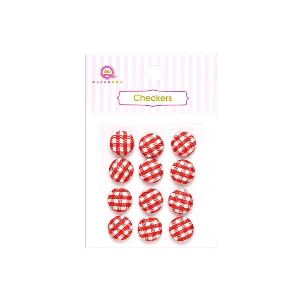 Checkers Red