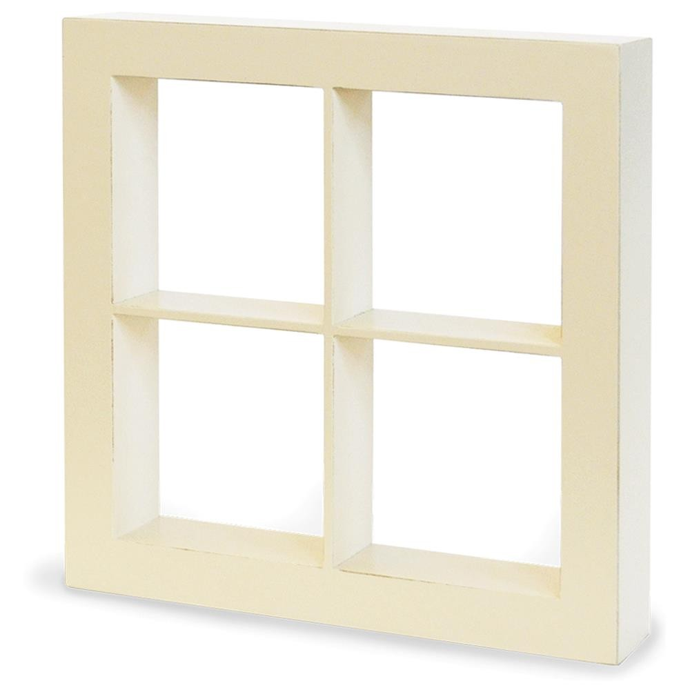 Staples Window Shadow Box Ivory