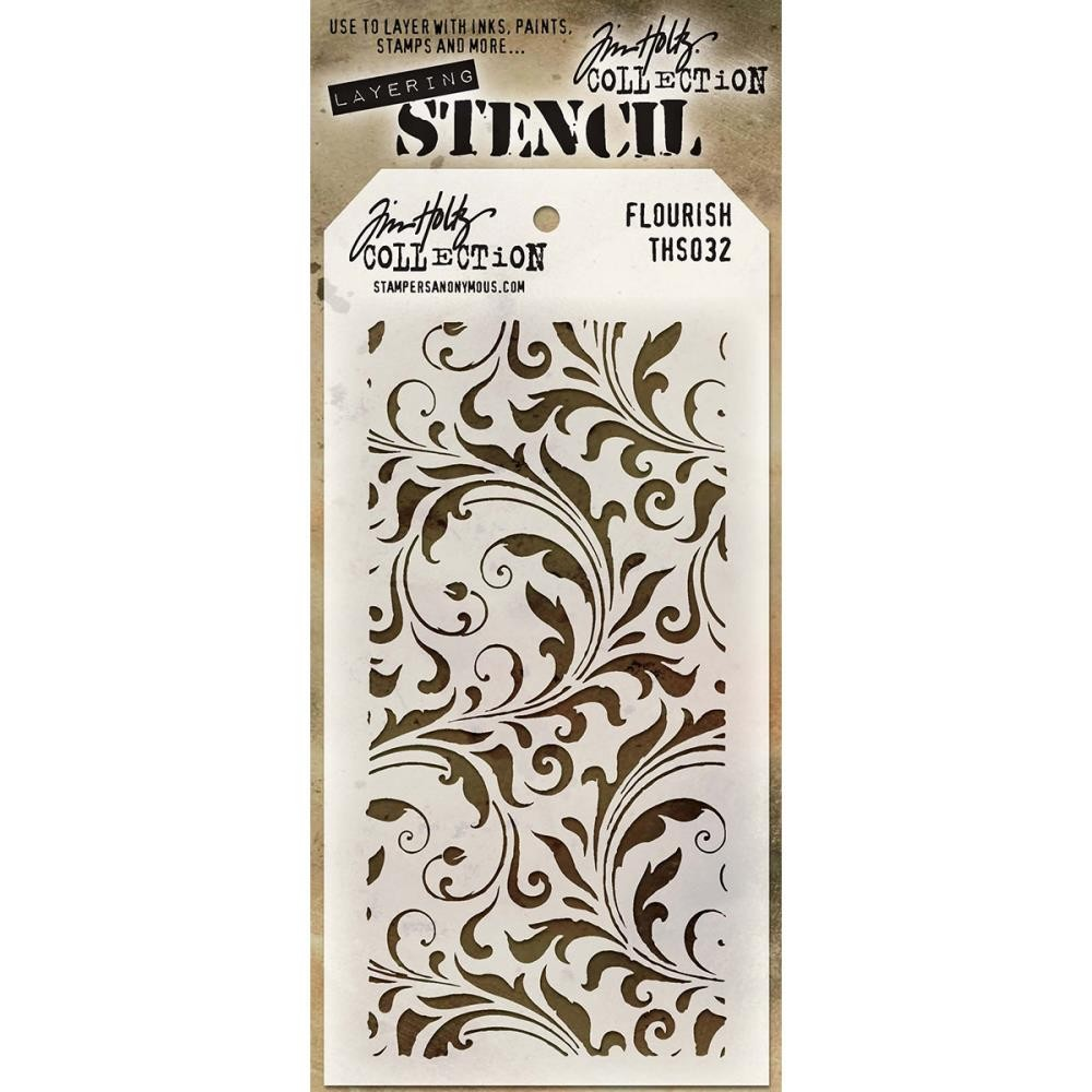 Tim Holtz Flourish Mask