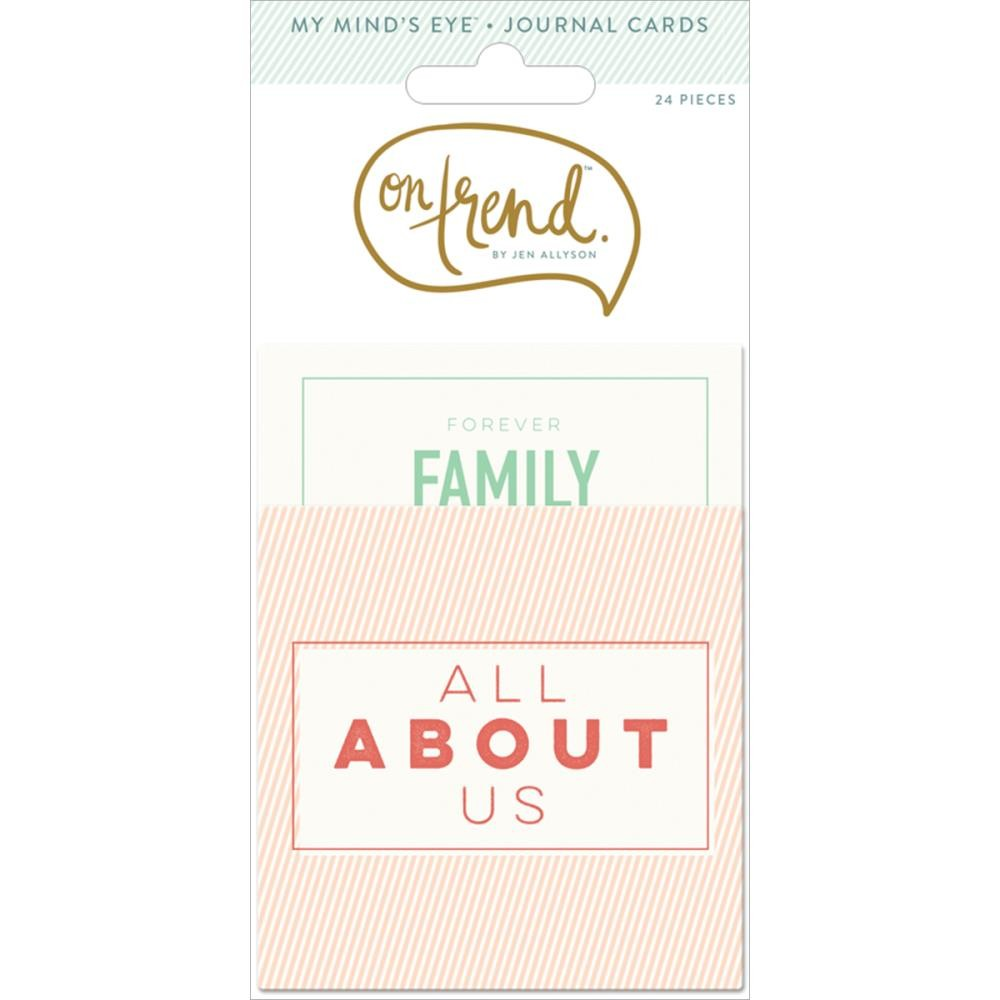 Journal Cards On Trend