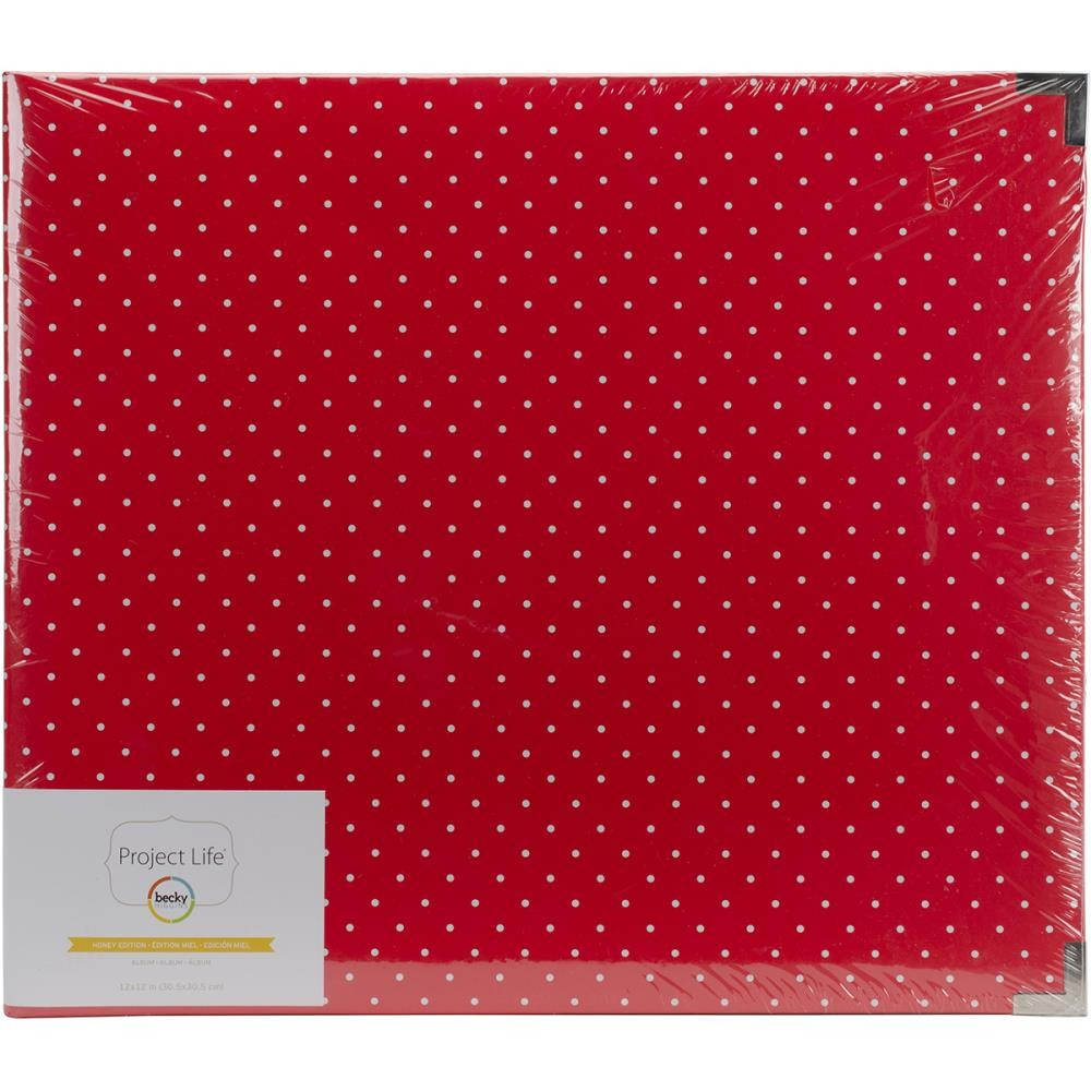 "Album 12"" x 12"" Honey Edition Polka Dots"