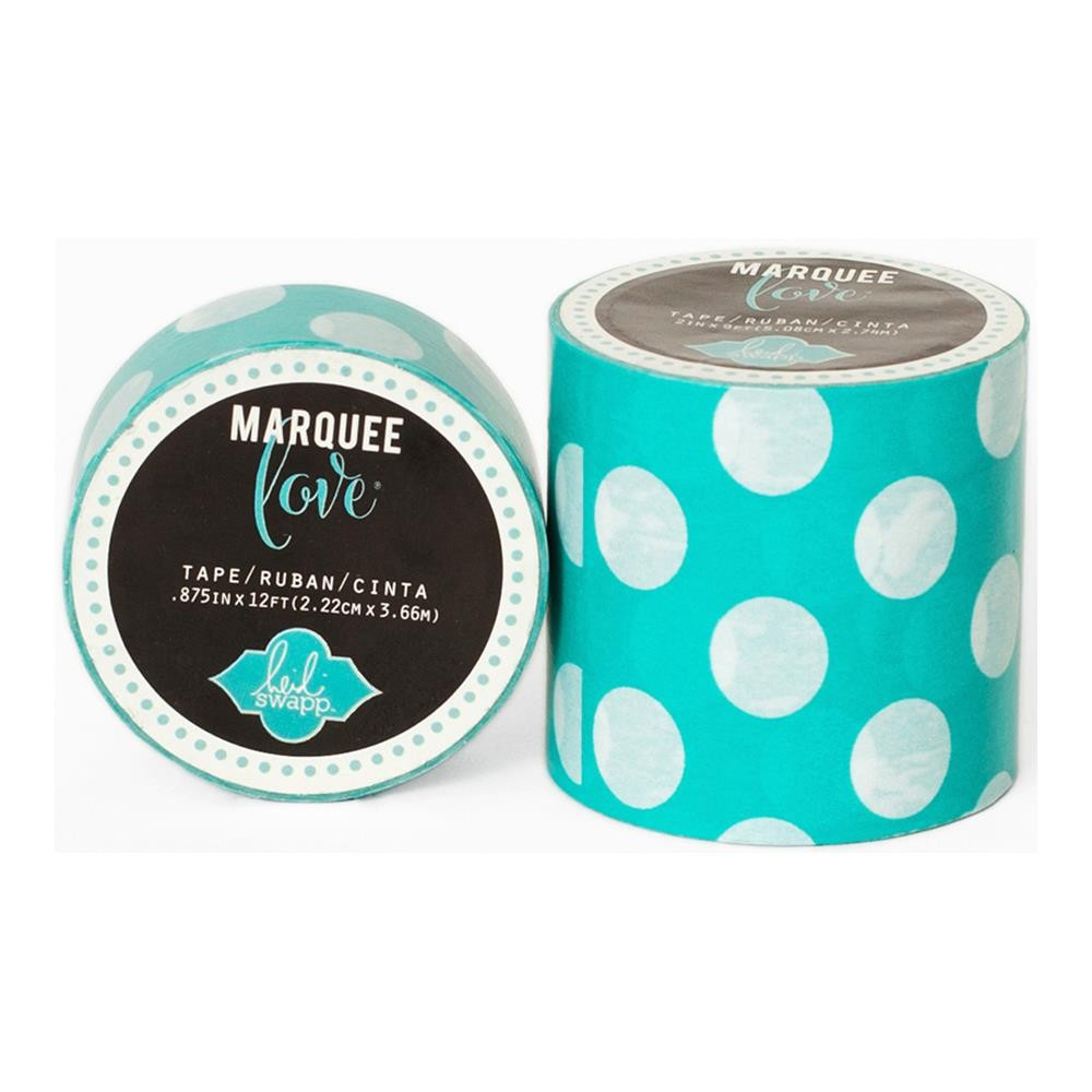 Marquee Washi Mint Polka Dot XL