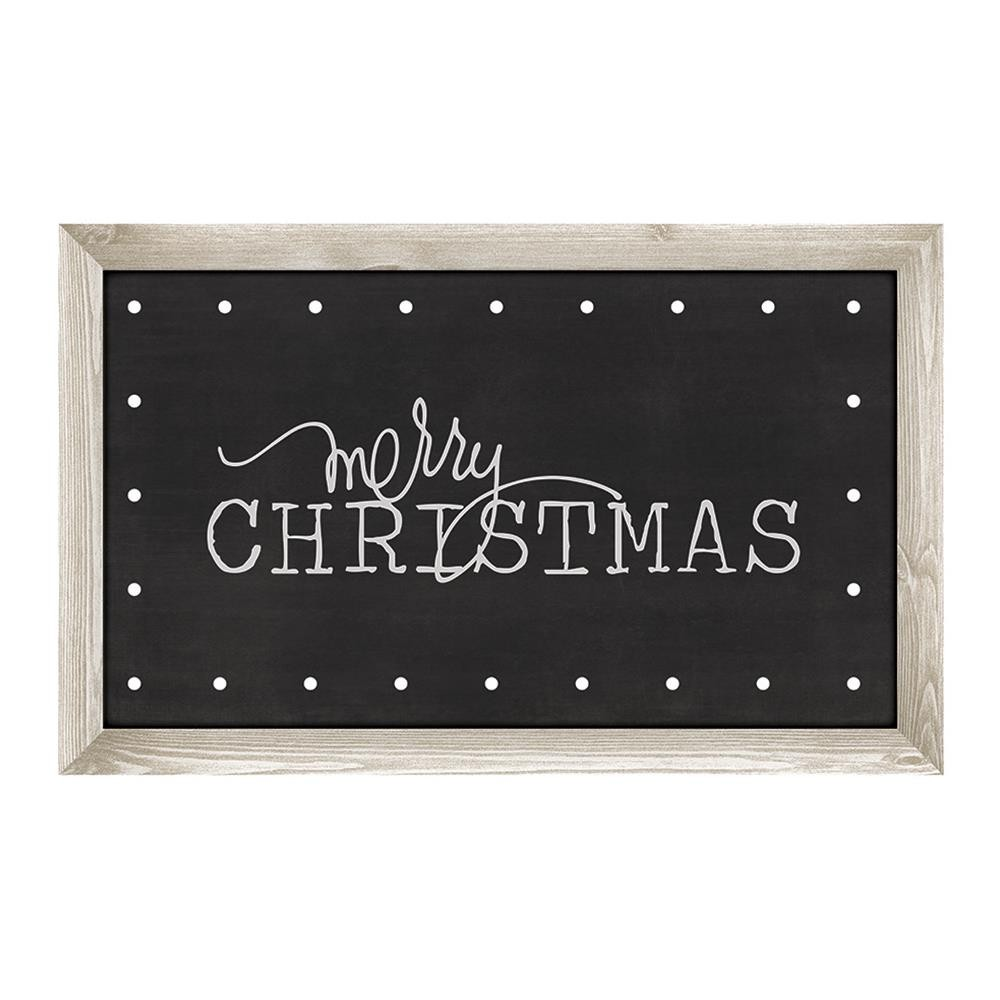 Merry Christmas Chalkboard Marquee