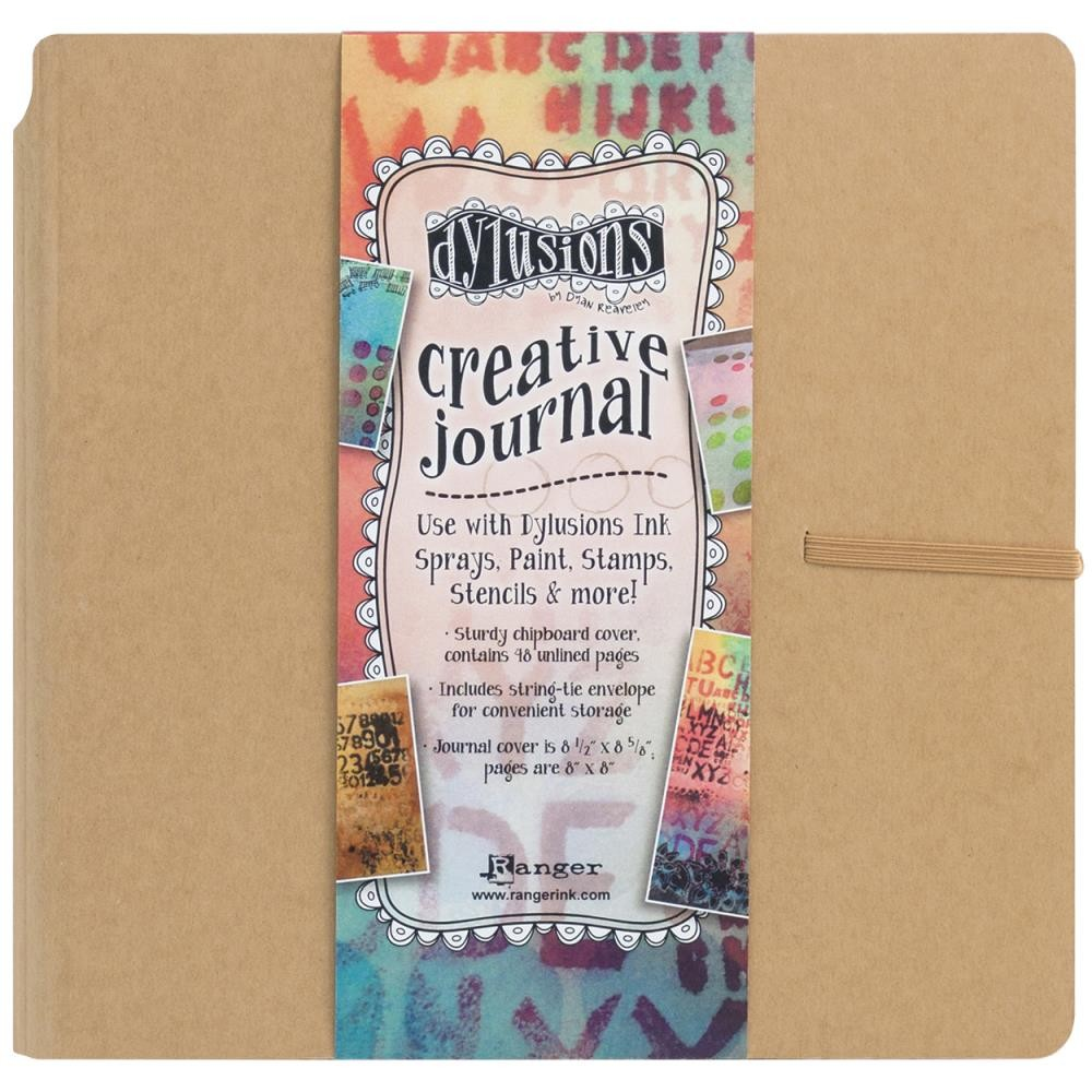 "Kraft Creative Journal 8"" x 8"""