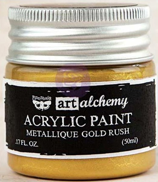 Pintura acrílica Metallique - Gold Rush