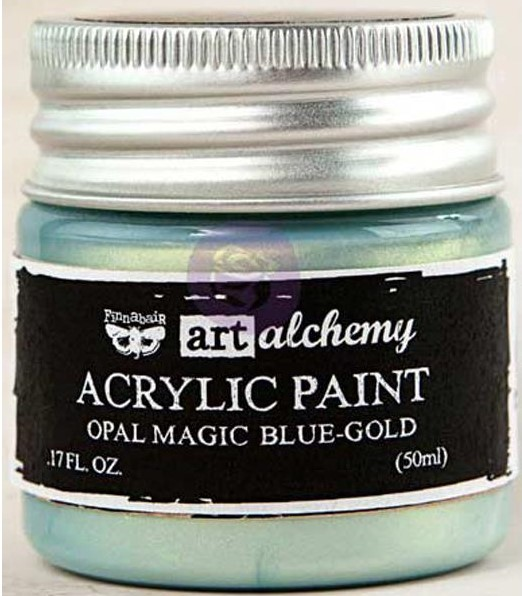 Pintura acrílica Opal Magic - Blue/Gold
