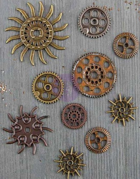 Steampunk Gears Mechanicals