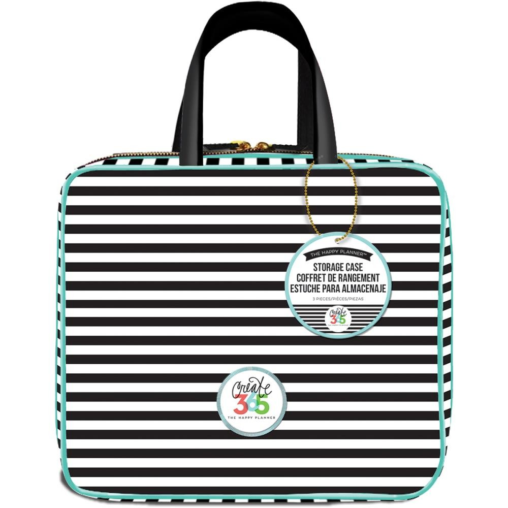 Striped The happy Planner Storage Case Create 365