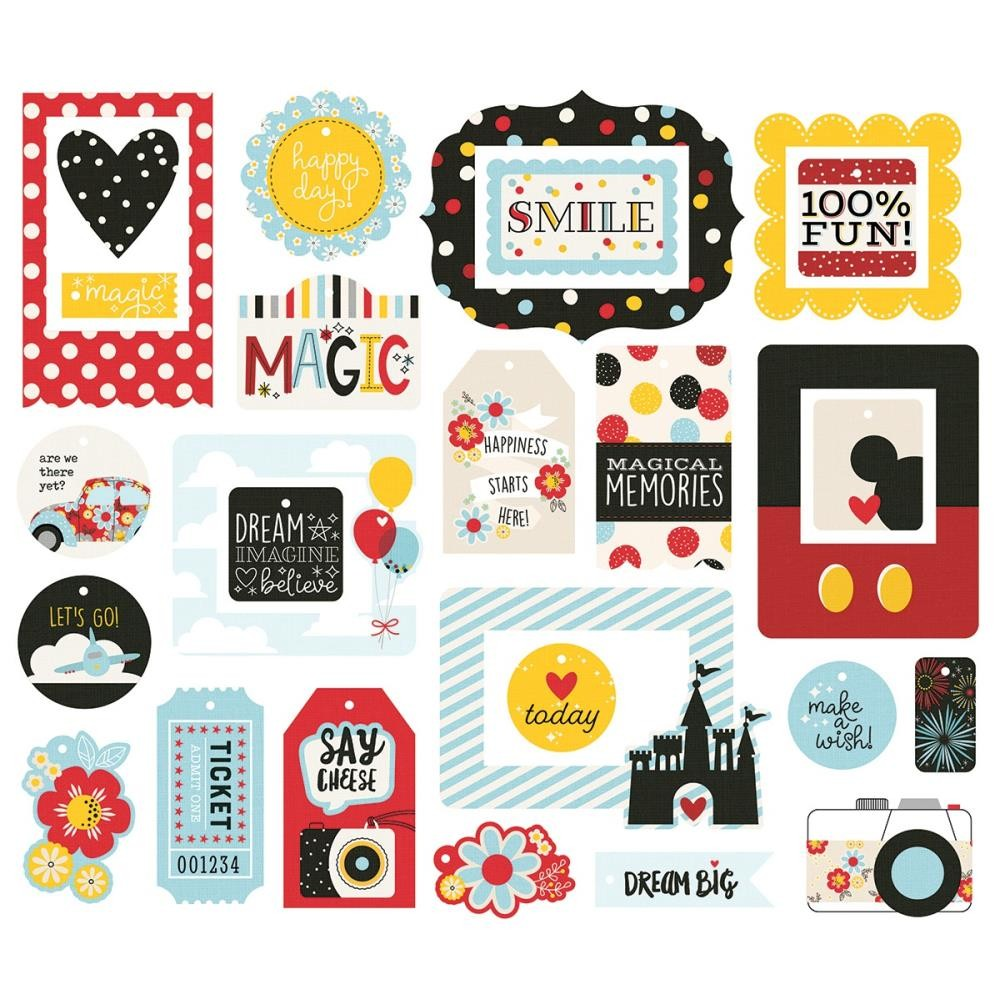 Die Cuts Say Cheese 4 Tags & Frames