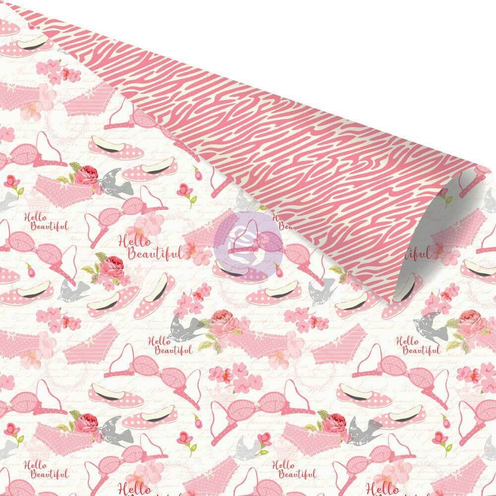 Papel Estampado Doble Cara 12x12 - Julie Nutting - Being Girly