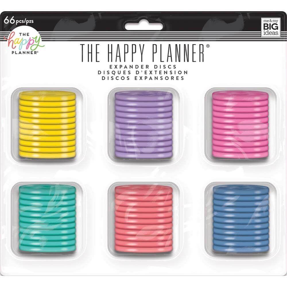 Set de Anillas Happy Planner Grandes Multi Color