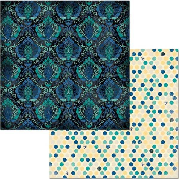 Papel Estampado Doble Cara 12x12 Something Splendid Darb