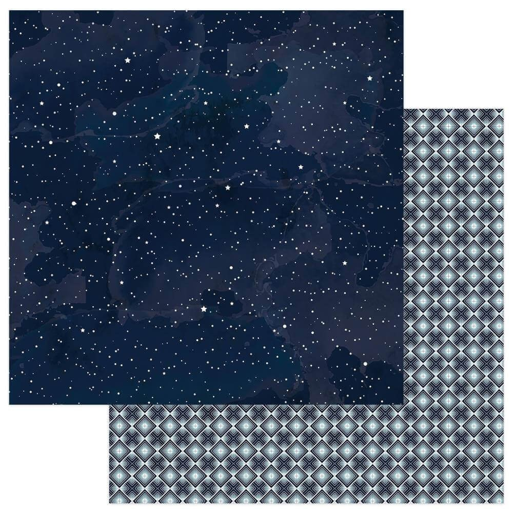 Papel Estampado Doble Cara 12x12 Remembrance Heavenly