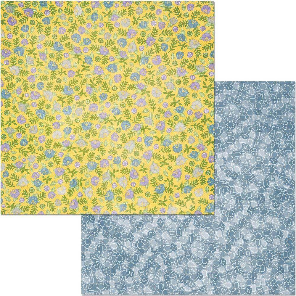 Papel Estampado Doble Cara 12x12 Bee utiful Terrific