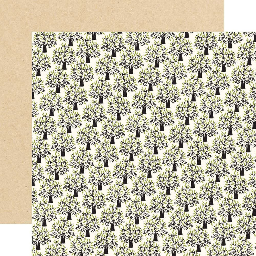 Papel Estampado Doble Cara 12x12 Forward With Faith Growing Faith