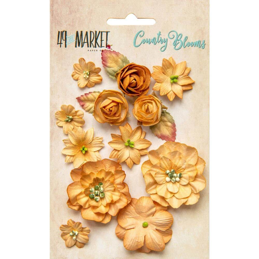 Flores de Papel Country Blooms Ginger