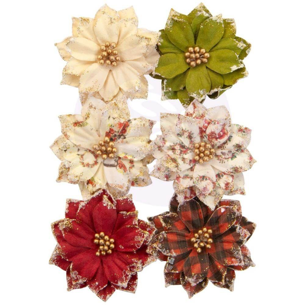 Flores de Papel Christmas In The Country Warm Mittens