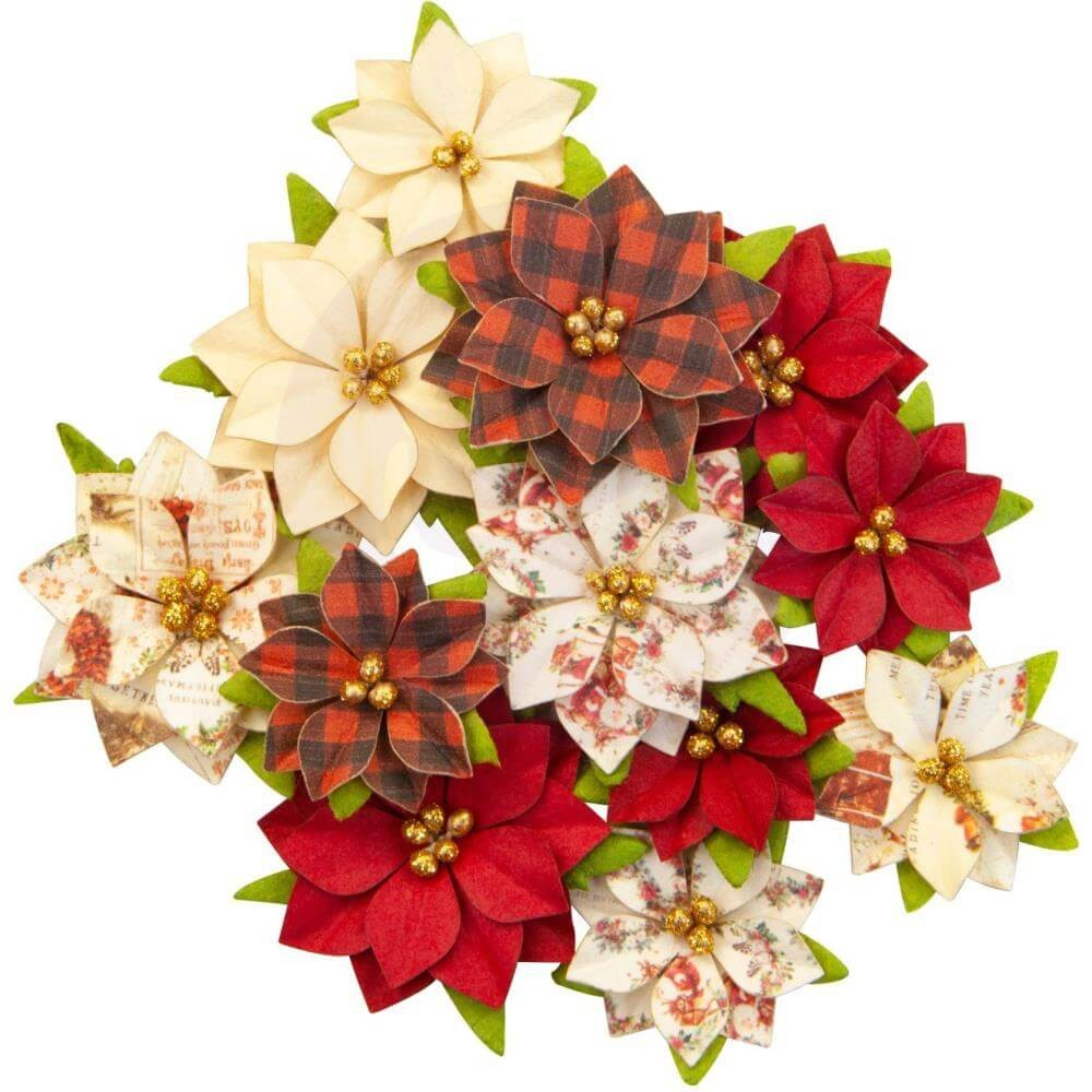 Flores de Papel Christmas In The Country Sugarplum
