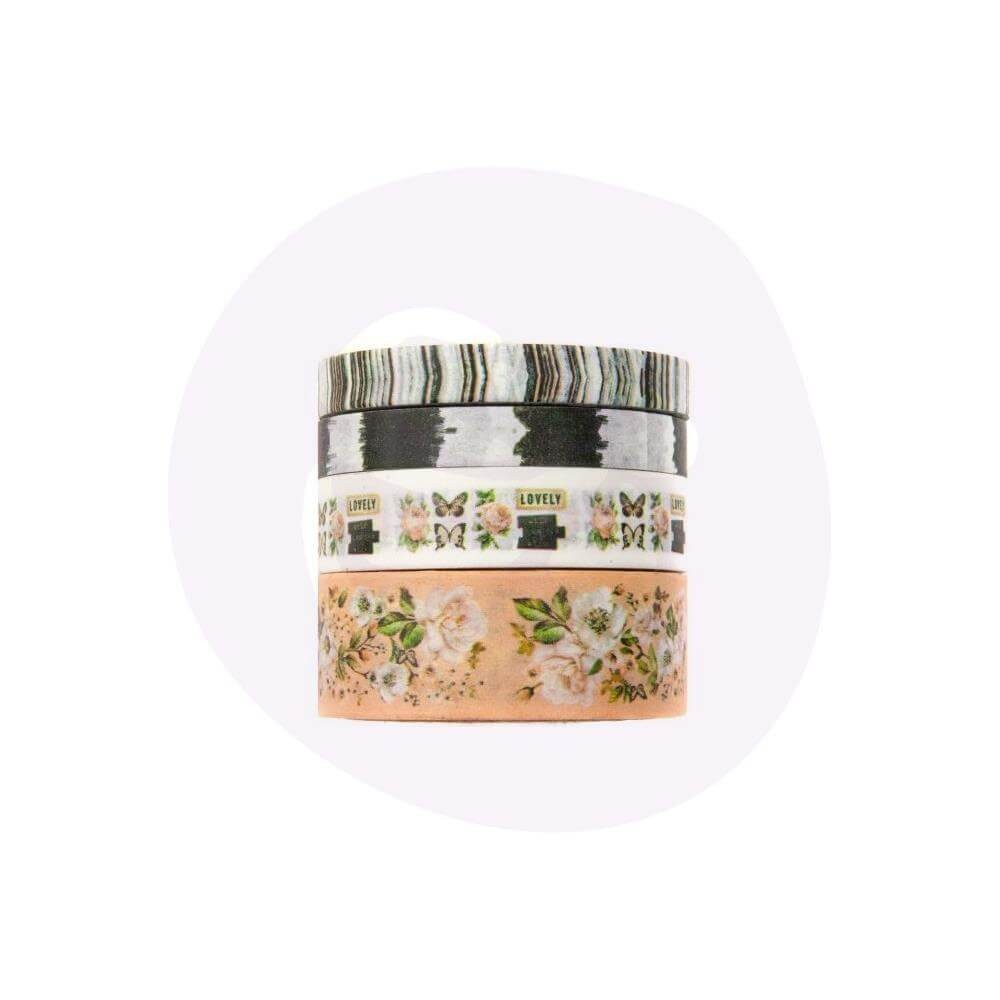Set de Washi Tape Apricot Honey