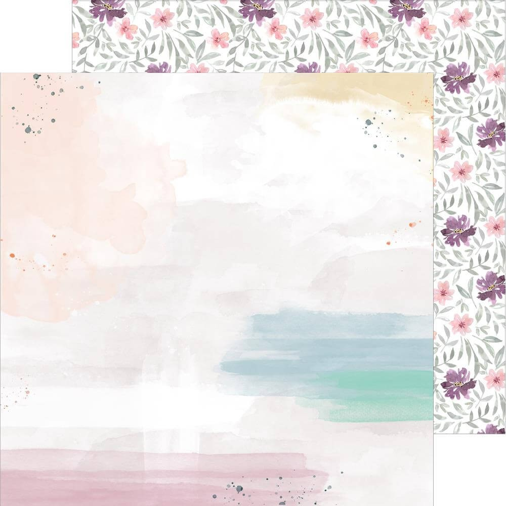 Papel Estampado Doble Cara 12x12 Just A Little Lovely Highlight